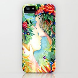 Nature/Nurture iPhone Case