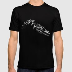 Jurassic Bloom - The Clever Girl Black 2X-LARGE Mens Fitted Tee