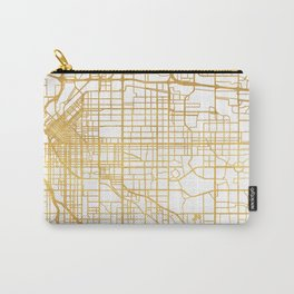 DENVER COLORADO CITY STREET MAP ART Carry-All Pouch