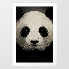 panda eyes 02 Art Print