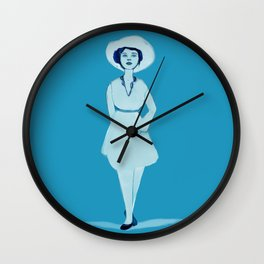 Lovely Lady II Wall Clock