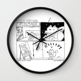 Good Fortune Wall Clock