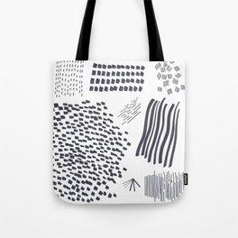 Abstract Marks Nr 2 Tote Bag