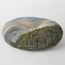 Sunstar Ano Nuevo State Reserve California Coast Floor Pillow