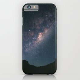 Milky Way in South Australia iPhone Case