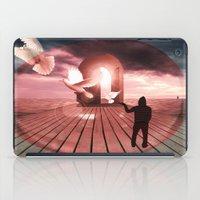 surrealism iPad Cases featuring surrealism  by mark ashkenazi