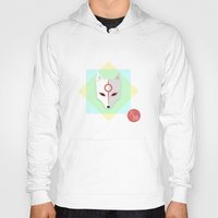 okami Hoodies featuring Okami by Sun Dai