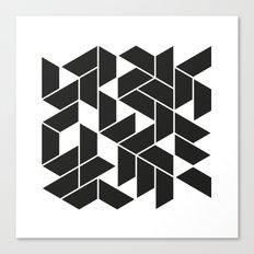 #539 City walks – Geometry Daily Canvas Print
