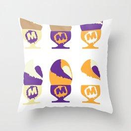 Eggplant Throw Pillow
