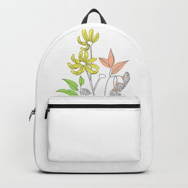 Bush Flowers Backpack
