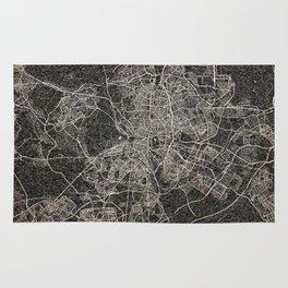madrid map ink lines Rug