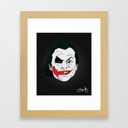 Jokes Framed Art Print
