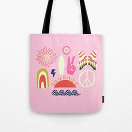 peace + harmony + surf Tote Bag