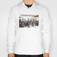 band Hoodies featuring Rock Band by Orbon Alija