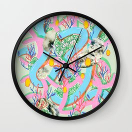 Alien Organism 7 Wall Clock