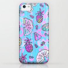 Pineapple Mix iPhone 5c Slim Case