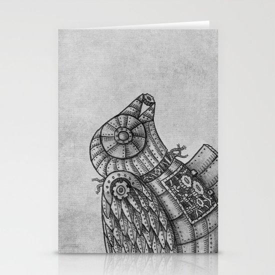 Clockwork Bird  Stationery Cards