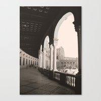 architecture Canvas Prints featuring architecture by Armine Nersisian