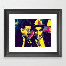 Cantinflas Framed Art Print