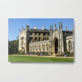 St. John's College, Cambridge Metal Print