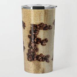 SEX - Coffee beans Travel Mug