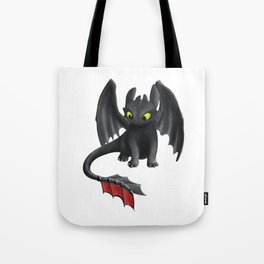 Toothless Dragon Tote Bag