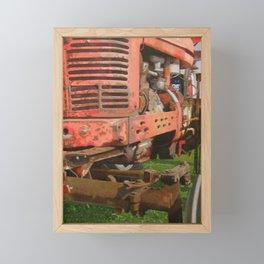 """Ole Faithful - Farmall """"H"""" Framed Mini Art Print"""