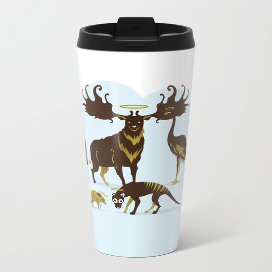 God's Zoo Metal Travel Mug