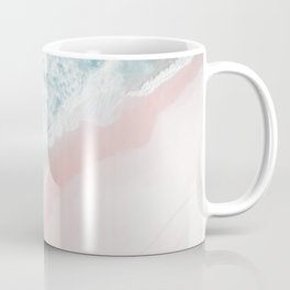 Ocean Pink Swirl Coffee Mug
