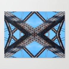 Bridging Lines Canvas Print