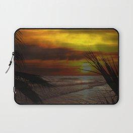 Sunset Palms ~ Pacific Ocean ~ California Laptop Sleeve
