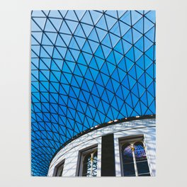 Great Court at the British Museum, London Poster