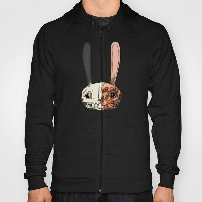 Visible Floating BunnyHead Hoody