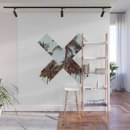 The XX Palm Trees Wall Mural