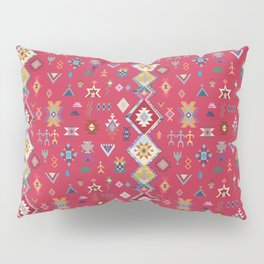 KILIM NO.1 IN DESERT MAGENTA Pillow Sham