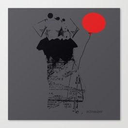 Schnauzer dog Canvas Print