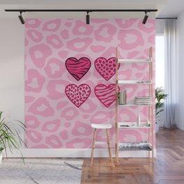Wild hearts Wall Mural