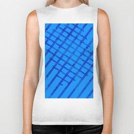 Diagonal abstract #2 Biker Tank