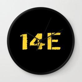14E MOS Wall Clock