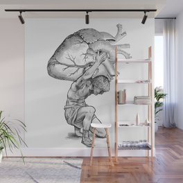 Heavy-Hearted - The Weight of the World Wall Mural