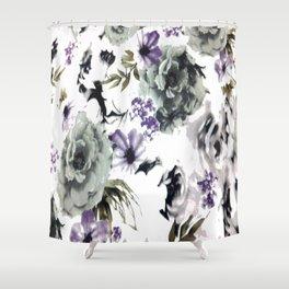 Kwan Yin Roses Shower Curtain