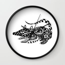 Tlacuache Possum Ecopet Wall Clock