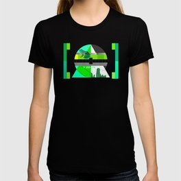 Waiting for the show to begin (Test Pattern 3) T-shirt