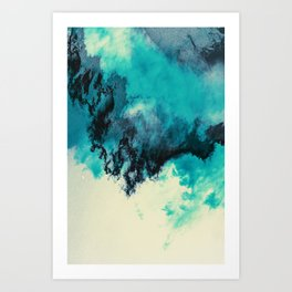 Painted Clouds V Art Print