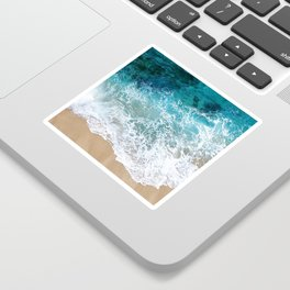Ocean Waves I Sticker