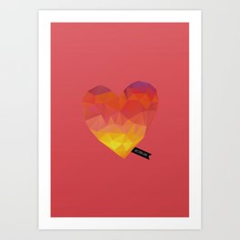 Vector Love 04 Art Print