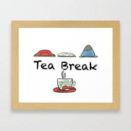 Tea Break Framed Art Print