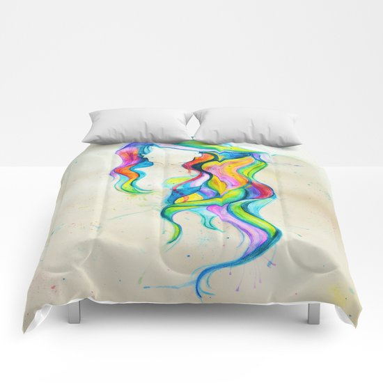 Shades of Me, Hair Series Comforters