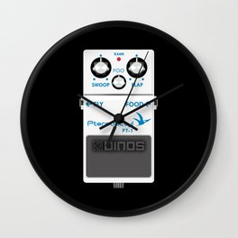 Pterodactyl Delay Pedal Wall Clock