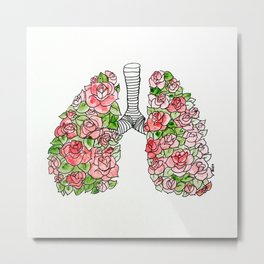 All the Air in My Lungs Metal Print